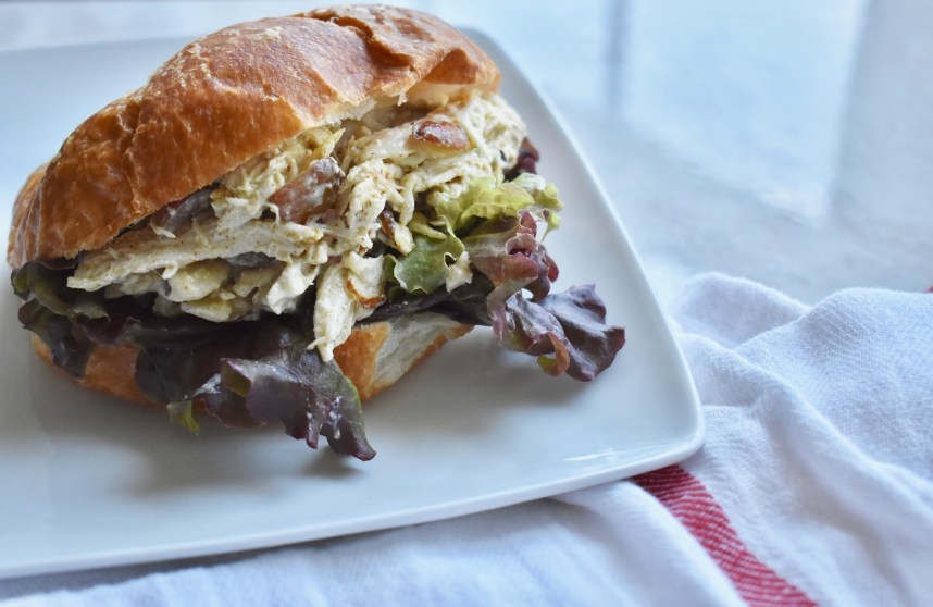 My Favorite Chicken Salad--Recipe at: stephanie-spring.com