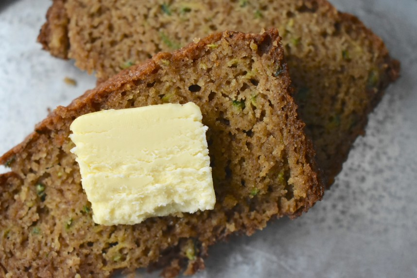 Zucchini Bread--Recipe at: stephanie-spring.com