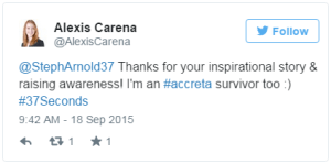 Alexis Carena Tweet