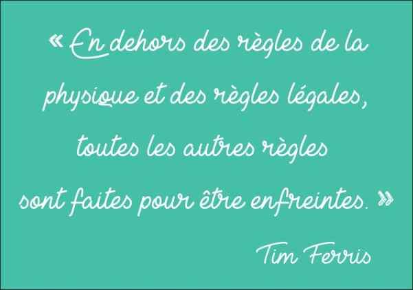 Tim Ferris citation