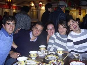 chinese food + tea