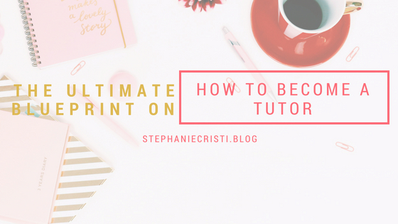 This StephanieCristi article details how to become a tutor. From finding students to choosing your rate, this post covers everything you need to succeed.