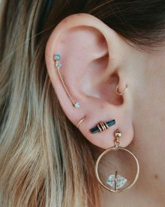 Stephanie Cristi shares a gallery of constellation piercings inspiring the piercing she will get with her mom to commemorate their love and friendship.