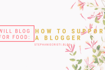 Not everyone understands blogging, but if you want to support a blogger, StephanieCristi details 10 easy ways you can show them some cyber love!