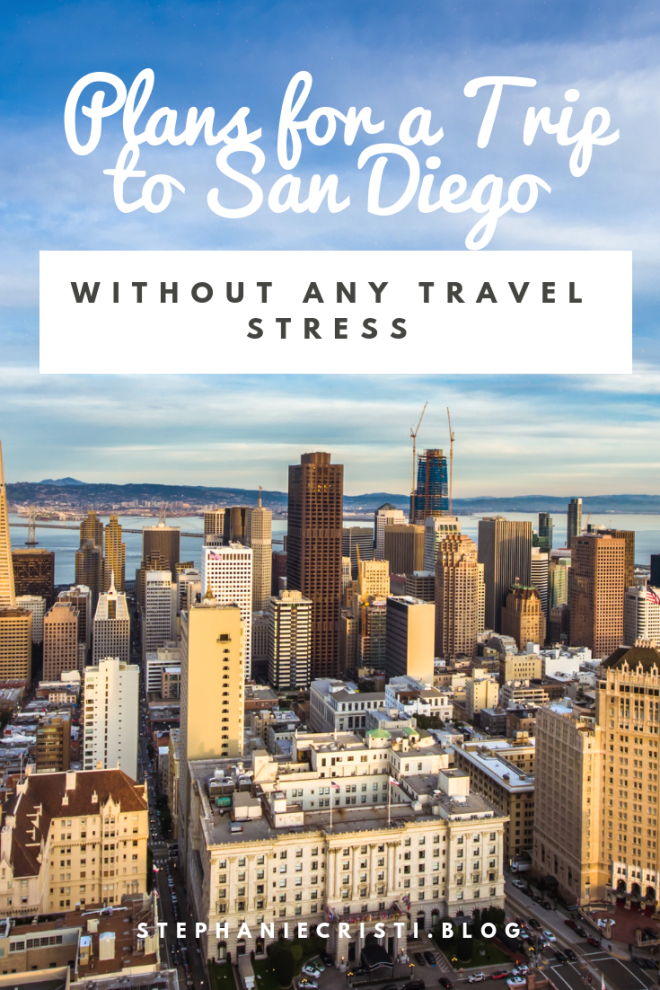 StephanieCristi shares her plans for a trip to San Diego to see her brother off on deployment. She discusses hotels and things to do in San Diego.