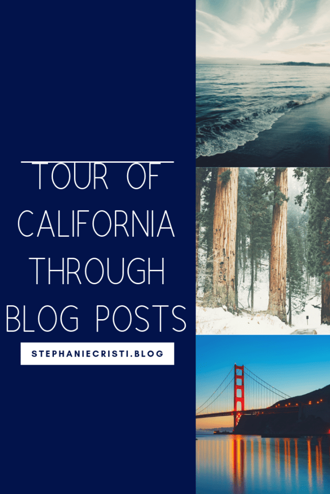 StephanieCristi shares her tour of California through GIS mapping technology. If you\'re planning on traveling in California soon, be sure to check it out! #california #socal #pasadena #losangeles #sanfrancisco #sandiego