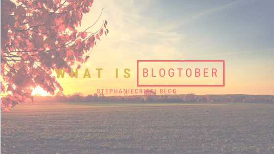 If you're a blogger struggling with sticking to a schedule, or you're a reader looking for new content to consume, be sure to follow my Blogtober series!
