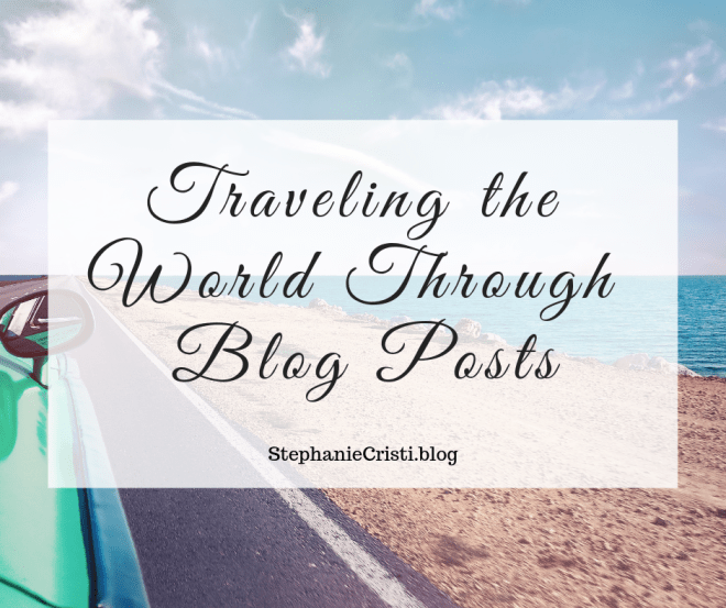 StephanieCristi shares her stories about traveling the world through GIS mapping technology. If you're planning a trip soon, be sure to check it out!