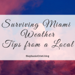 If you're planning a trip to southern Florida, check out these tips regarding Miami weather! Season-specific advice will keep you looking adorable.