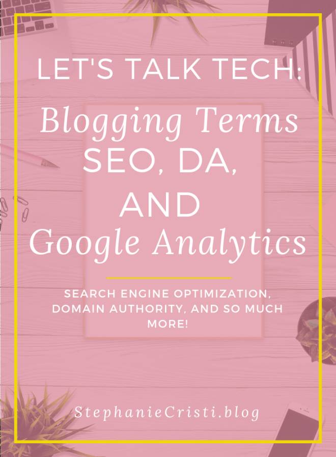 Most people come into #blogging without any technical background and are baffled when they come across these technical blogging terms and acronyms such as #SEO, #DA, and #GoogleAnalytics. #blog #bloggers #bloggerterminology #searchengineoptimization #domainauthority