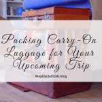 When it comes to packing carry-on luggage, there are some items we just can't leave behind! Today's video post details my must-haves to pack in your carry-on. #traveling #travel #traveltips #packing