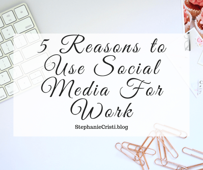 You have to stay up-to-date with the times as a business owner! So today, we're discussing the top 5 reasons to use social media for work, especially social media for business.