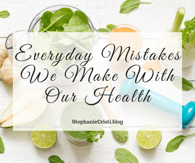 None of us are immune from making health mistakes; not even the most health-conscious of us. Sure, we eat healthily and possibly keep fit too, but in some small but significant ways, we can also put our wellbeing at risk. Here are some of the mistakes we make with our health.
