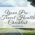 Before you go traveling, it is essential to make sure you are fit and well enough to make the trip. If you have a trip on the horizon, now is the time to go cross off your pre-travel health checklist. From vaccines and topping off medications, you can never be too safe.