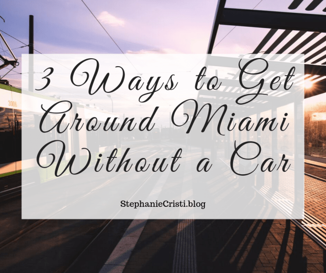 Miami is an exciting city with an incredible amount of places to visit. Seeing everything Miami has to offer can be more difficult if you're driving a car. You'd need to pay attention to changing traffic conditions, parking and pedestrians. Luckily, there are a few fun ways to get around town so you can soak up more than just the Miami heat. Here are some great ways to get around Miami without a car.
