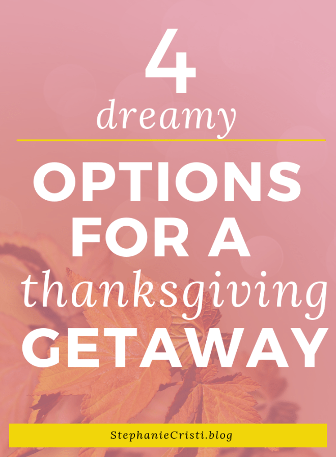 There is a reason that the Thanksgiving season is the time of year when travel is at its all-time high. It is the holiday that is dedicated to gratitude and reflection on what you enjoy and are thankful for in life. If you want to have a short Thanksgiving getaway this season so that you can really focus on what you most appreciate in life, here are some places to consider.