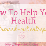 When you want to be healthy, you're not always sure what you need to do to make that happen. There's quite often a lot of information online that can be confusing, and you won't always know how to help your health - especially as a stressed-out entrepreneur with little time as it is! But these three things will always work.