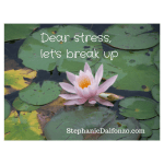 learn how to reduce stress naturally