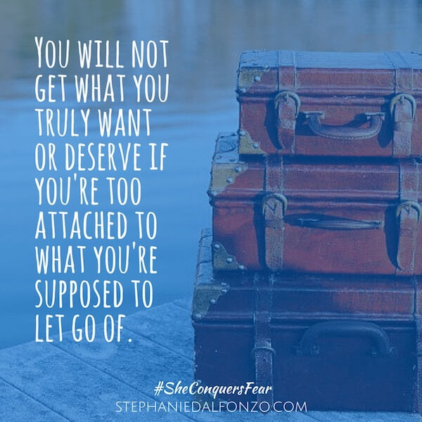Let Go Of It