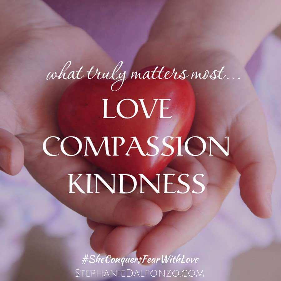 Love Compassion Kindess