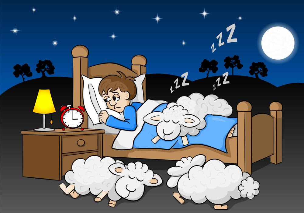 Counting sheep doesn't help with sleep anxiety