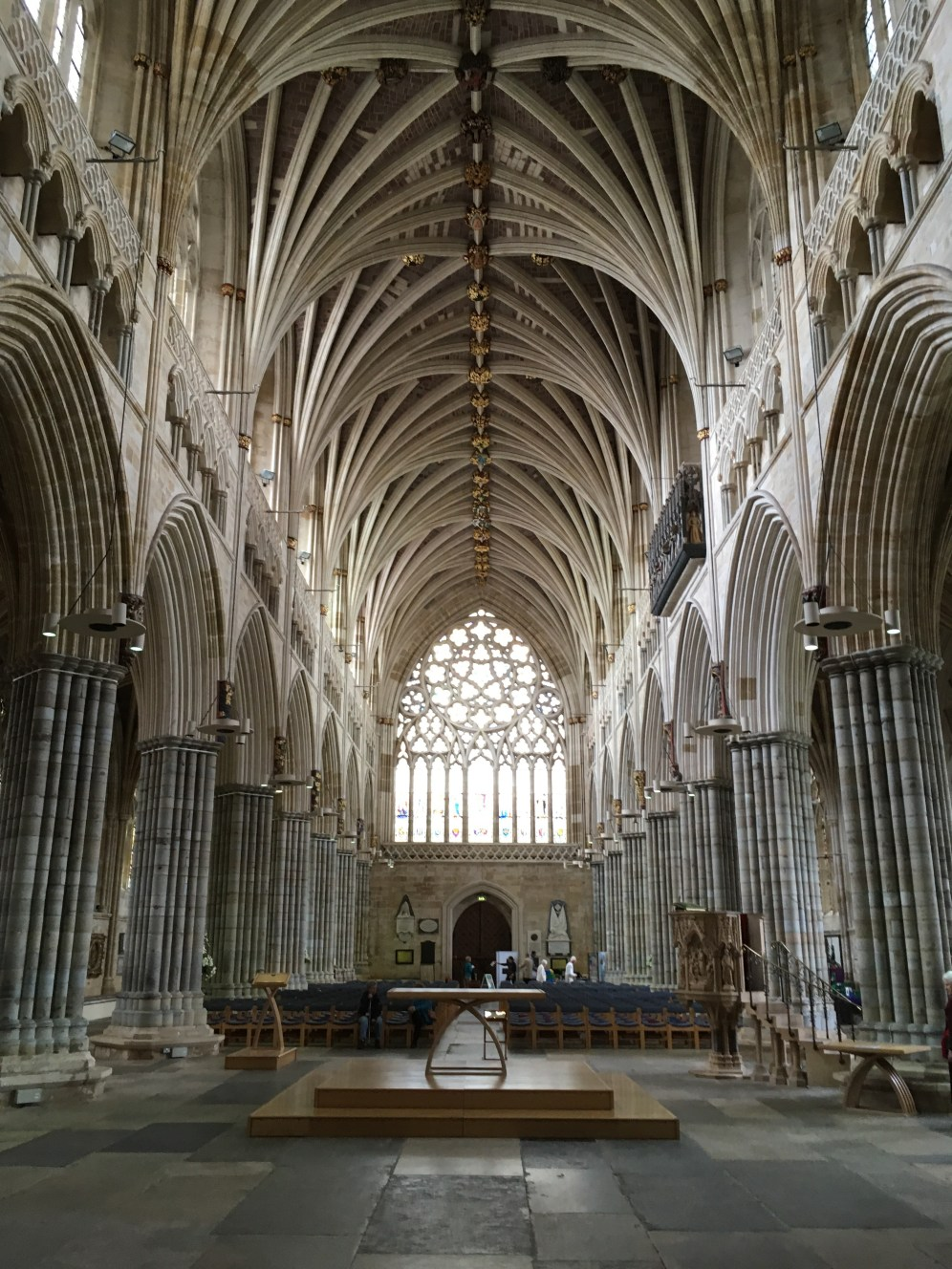 The Nave from the Quire