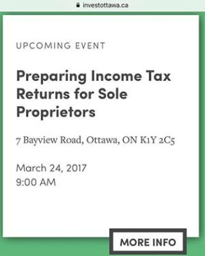365 days of happy project - day 82 - stephanie de montigny - continuing education business owner taxes sole proprietorship entrepreneur invest ottawa course