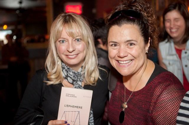 Nathalie Roy et Julie Philippon