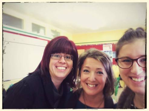 Karine Drolet, Nadia Berghella et Stéphanie Deslauriers!