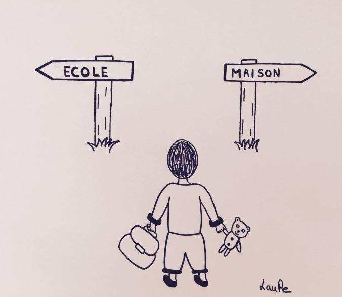 illustration réalisée par Laure Rollier