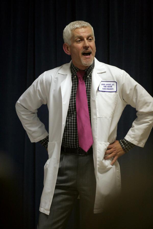 doctor speaking
