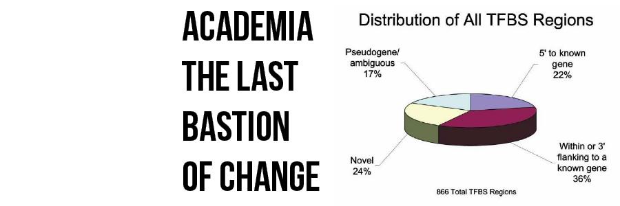 Academia, The Last Bastion of Change