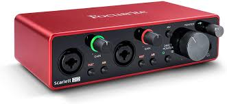 <strong>Interface: Focusrite Scarlett Solo </strong>