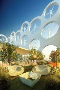 wind turbine penthouse apartments