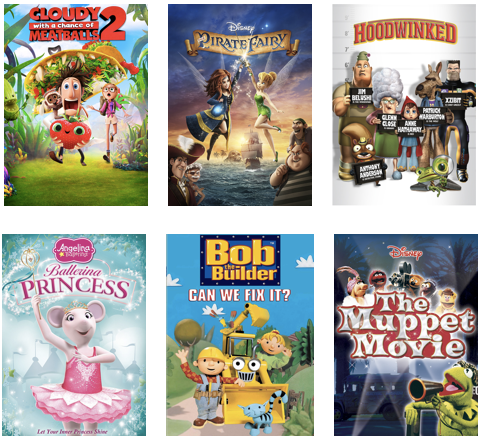 Films to Watch with your Little Ones on Family Movie Night #StreamTeam