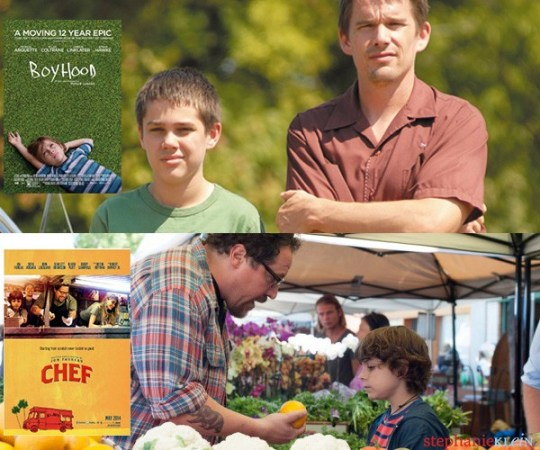 Boyhood vs. Chef Movie