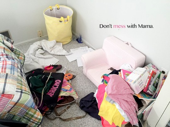Prevent a Messy Room