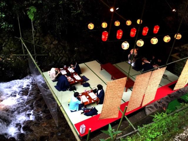 Restaurant Hirobun, Kibune Japan