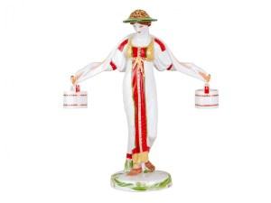 Figurine Girl with a yoke