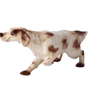 Dog figurine Setter Spotted