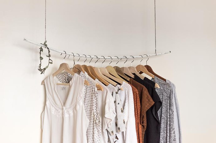 shop vintage and gently used for zero-waste living