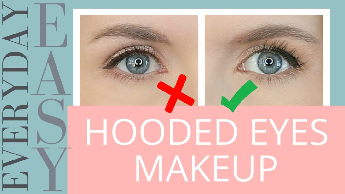 easy hooded eyes makeup