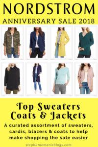 Nordstrom sale 2018 coats