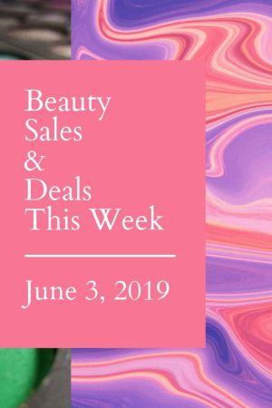 Beauty sales this week