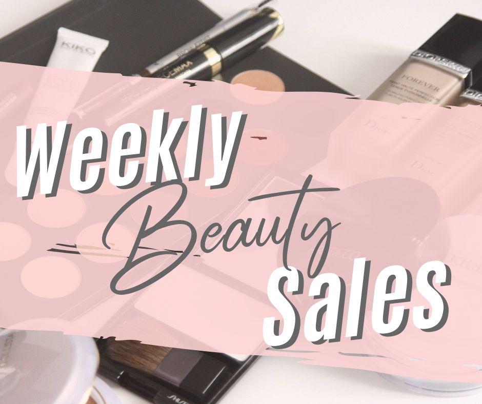 weekly online beauty sales