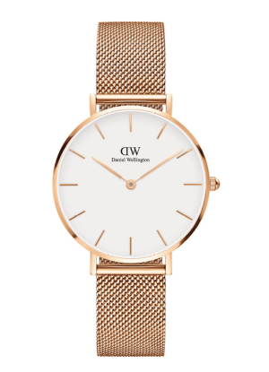 The rose gold watch I wear almost daily!