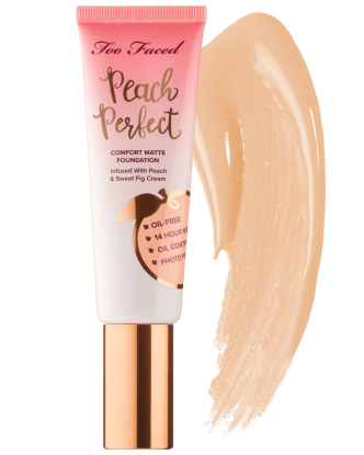 Too Faced Peach Perfect Foundation NC25