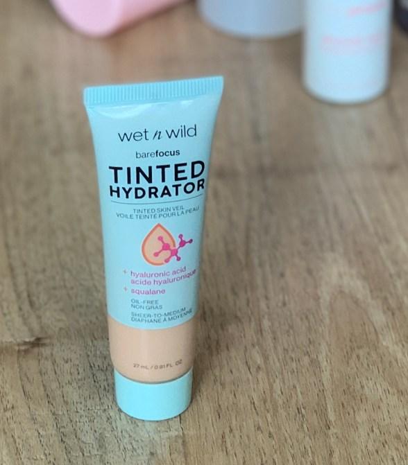 drugstore makeup wet n wild barefocus tinted hydrator light medium
