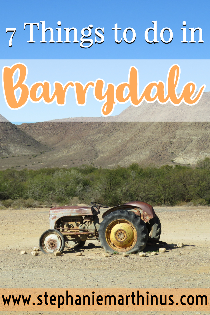 7 Things to do in Barrydale