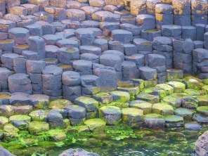 Layers of basalt/Stepping stones for the giants/Of so long ago